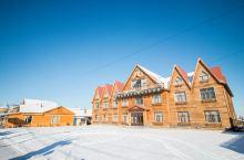 #最美冬季雪景# 恩和,中国俄罗斯租主体的乡村