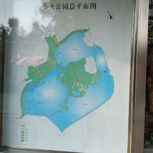 秀全公园旅游景点攻略图