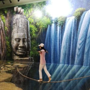 暹粒3D艺术博物馆旅游景点攻略图