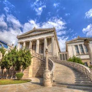 雅典大学旅游景点攻略图