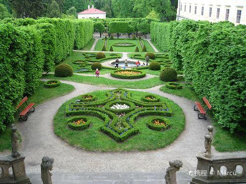 Gardens and Castle at Kromeriz