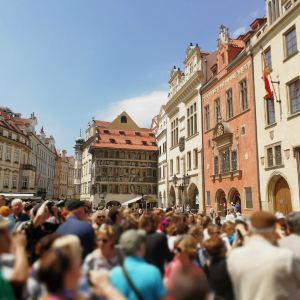 布拉格天文钟旅游景点攻略图