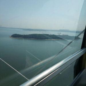 """""""琴岛之眼""""摩天轮旅游景点攻略图"""