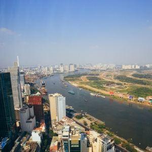 胡志明市金融塔旅游景点攻略图