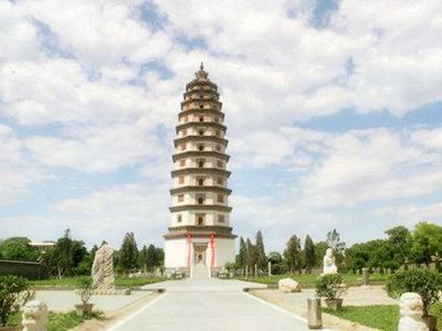 The Kaiyuan Temple Pagoda