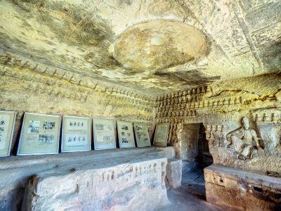 Qianfosi Grottoes, Yan'an