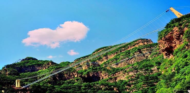 Chengdetianmenshan Mountain