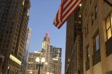 早晨的芝加哥