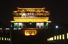 沛县汉城公园附近的夜景