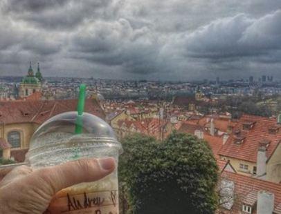 Starbucks Coffee Prague Castle