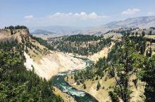 黄石第二日:动物、瀑布、溪流、峡谷