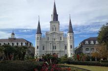【新奥尔良无烤鸡文艺之旅Vol.3】圣路易斯主教座堂和海盗小巷