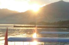 抚仙湖的风景满景楼