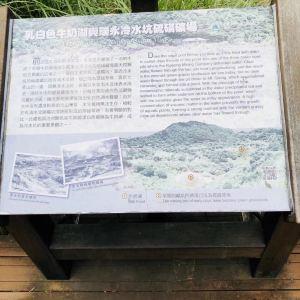 阳明山牛奶湖旅游景点攻略图