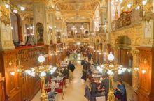 #旅行探店# 纽约咖啡馆,回味布达佩斯的百年荣光