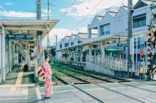 #主题交通# 少女心泛滥的宫之坂小清新「招财猫电车」