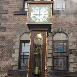 蒸汽钟旅游景点攻略图
