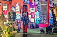 吉隆坡阳光商场:和胡桃夹子玩偶一起过圣诞
