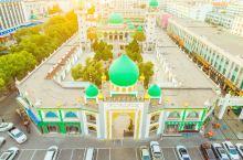 #元旦去哪玩#南关清真寺,宁夏最大的清真寺