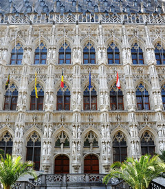 """[卢森堡游记图片] 从布鲁日到布鲁塞尔,比利时""""艺术之城""""的穿行"""
