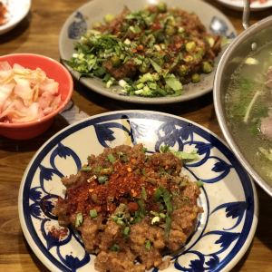 冯三孃跷脚牛肉(四川名店)旅游景点攻略图