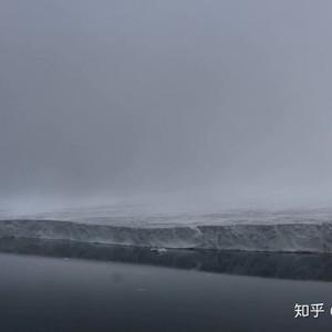 北极游记图文-飞机上观大冰川。北极29.