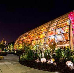 奇胡利玻璃艺术园旅游景点攻略图