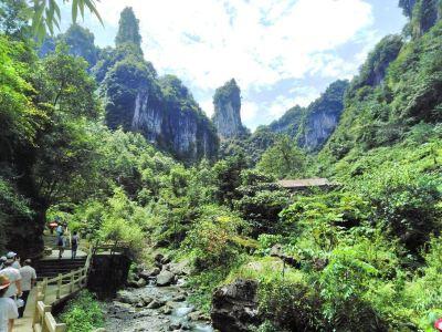 칭장팡산(청강방산) 관광지