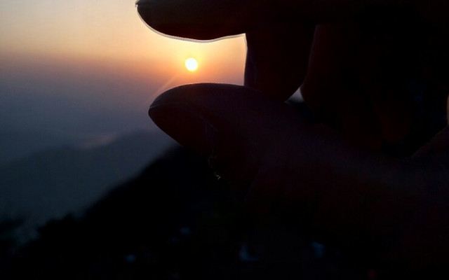 感受最美的泰山