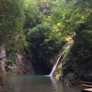 锁龙瀑布旅游景点攻略图