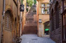 漫步法国里昂老城区