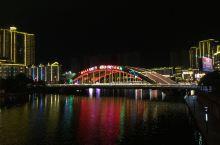 夜色中的都匀之桥