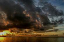 保利银滩日出光影