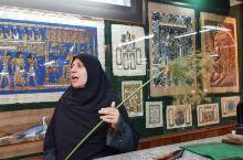 #埃及游#参观纸草画店