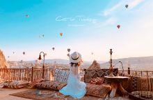在土耳其转角遇到爱,猫爷的360小时浪漫漂流记(15天8座城蓝白小镇热气球滑翔伞攻略)