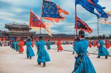 「首尔必体验」景福宫传统守门将换岗仪式