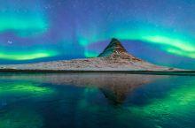 人生一定要看一次的绿光飞舞,冰岛夜空中的烟火