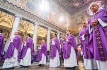古老罗马 圣母大殿里神圣气息