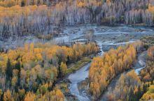 秋景宜人的哈巴河
