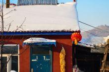 雪乡背后宁静的小村庄,雪景根本看不够