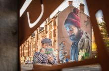 感受格拉斯哥最美的街头涂鸦艺术