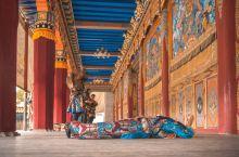 甘肃省边界上的千年古刹—天堂寺