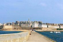 圣马洛老城区,看法国的古城的样子