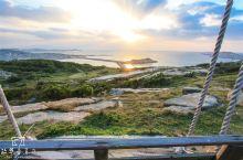在中国的爱琴海,迎接海上日出
