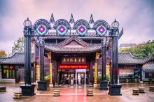 阴雨天的广州香港