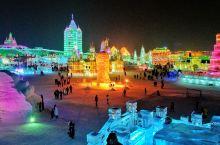 平地而起的冰雪城堡,真实的童话王国