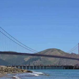 旧金山-奥克兰海湾大桥旅游景点攻略图