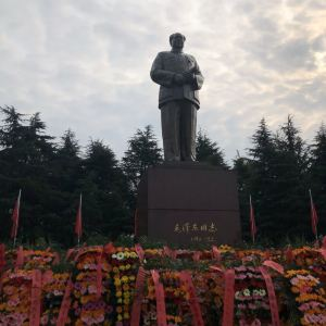 毛主席铜像旅游景点攻略图