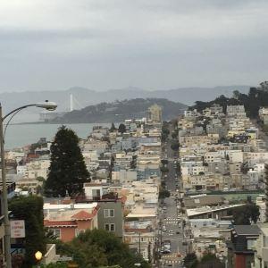 旧金山铛铛车旅游景点攻略图