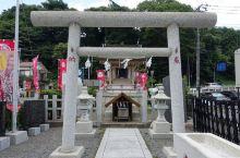 水戸黄門神社那可爱的黑白对石  在日本有很多漂亮的神社,很多神社都是隐没在大山中的。这次去日本水户市